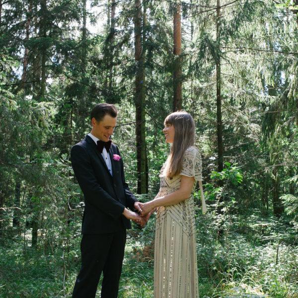 Bröllopsfotograf Gotland - THERESE & JOHN