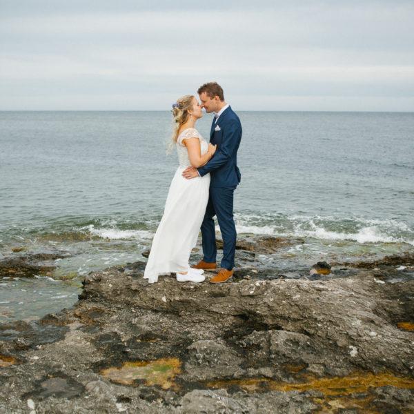 Bröllopsfotograf Gotland - Isabelle + Björn