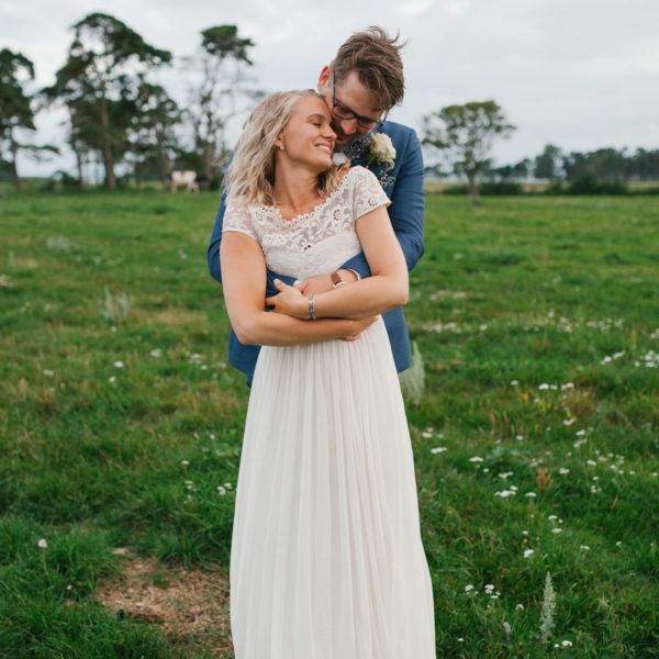 Bröllopsfotograf Gotland - Julia + Simon